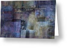 Luminous Layers Greeting Card by Lee Ann Asch