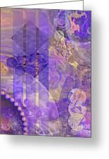 Lunar Impressions 2 Greeting Card by John Robert Beck