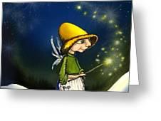 Magical Hope Greeting Card by Hank Nunes