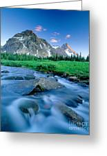 Magog Creek And Naiset Point Greeting Card by David Nunuk