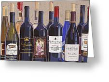 Make Mine Virginia Wine Number One Greeting Card by Christopher Mize
