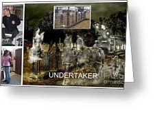 Making The Undertaker Greeting Card by Tom Straub