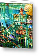 Mall Of America Greeting Card by Rich Beer