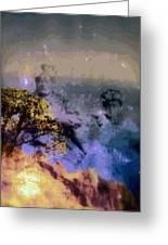 Manahuna Greeting Card by Kenneth Grzesik