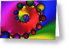 Mandala 157 Greeting Card by Rolf Bertram