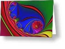 Mandala 158 Greeting Card by Rolf Bertram