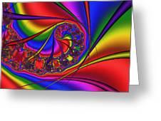 Mandala 163 Greeting Card by Rolf Bertram