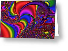 Mandala 164 Greeting Card by Rolf Bertram