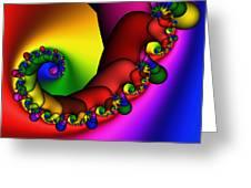 Mandala 211 Greeting Card by Rolf Bertram