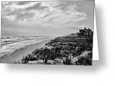 Mantoloking Beach - Jersey Shore Greeting Card by Angie Tirado