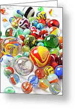 Many Marbles  Greeting Card by Garry Gay