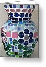Marble Vase Greeting Card by Jamie Frier