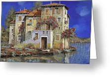 Mareblu' Greeting Card by Guido Borelli