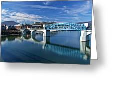 Market Street Bridge  Greeting Card by Tom and Pat Cory