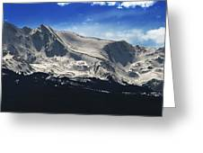 Massive View Greeting Card by Darryl Gallegos