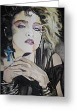 Material Girl Greeting Card by Lance Gebhardt