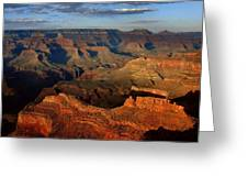 Mather Point - Grand Canyon Greeting Card by Stephen  Vecchiotti