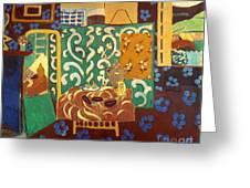 Matisse Interior 1911 Greeting Card by Granger