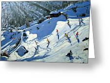 Matterhorn Greeting Card by Andrew Macara