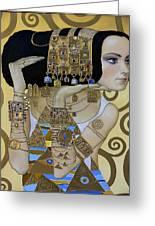 Mavlo - Klimt A Greeting Card by Valeriy Mavlo