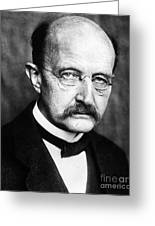 Max Planck  Greeting Card by Granger