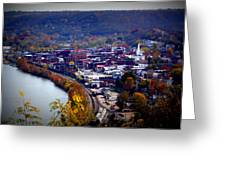 Maysville Kentucky Greeting Card by Susie Weaver
