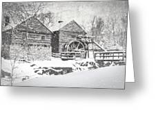 Mccormick's Farm February 2012 Series Vi Greeting Card by Kathy Jennings