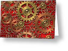 mechanism Greeting Card by Michal Boubin