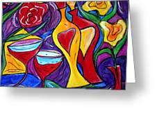 Medicine for Love  Greeting Card by Luiza Vizoli