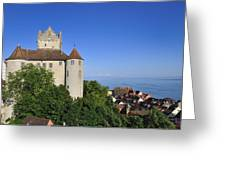 Meersburg Castle - Lake Constance Or Bodensee - Germany Greeting Card by Matthias Hauser