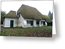 Meeting House Greeting Card by Brian Leverton