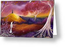 Meeting Place Greeting Card by Amanda Clark