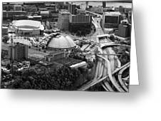 Mellon Arena  Greeting Card by Emmanuel Panagiotakis