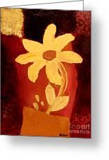 Mellow Yellow Greeting Card by Marsha Heiken