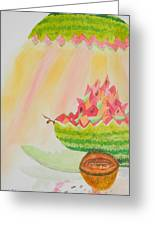 Melon Head Bar And Grill Greeting Card by Warren Thompson