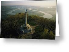 Memorial To The Battle Of Chattanooga Greeting Card by Sam Abell