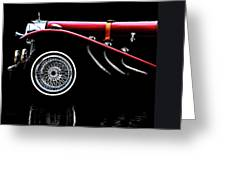 Mercedes Benz Ssk  Greeting Card by Bob Orsillo