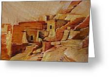 Mesa Verde Greeting Card by Summer Celeste