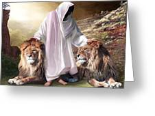 Messiah Israel And Judah Greeting Card by Bill Stephens