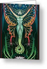 Metamorphosis Greeting Card by Cristina McAllister