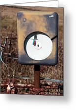 Meter Greeting Card by Amanda Barcon