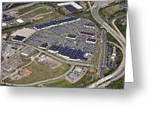 Metroplex Shopping Center Chemical Road Plymouth Meeting Pennsylvania Greeting Card by Duncan Pearson