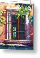 Mexico Window Greeting Card by Candy Mayer