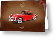 Mga 1959 Greeting Card by Mark Rogan