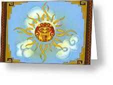 Mi Sol Greeting Card by Roberto Valdes Sanchez