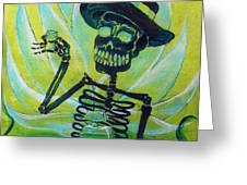 Mi Tequila Greeting Card by Heather Calderon