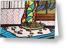 Midnight In The Kitchen Greeting Card by John Williams
