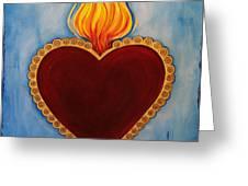 Milagro Greeting Card by Sabina Espinet