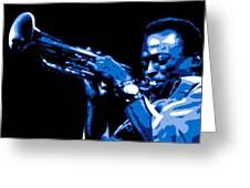Miles Davis Greeting Card by DB Artist