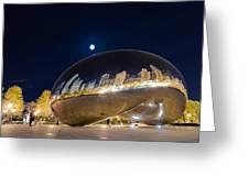 Millennium Park - Chicago Il Greeting Card by Drew Castelhano